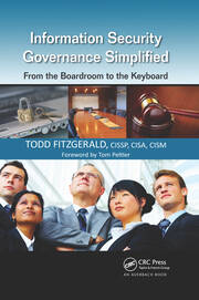 Information Security Governance Simplified - 1st Edition book cover