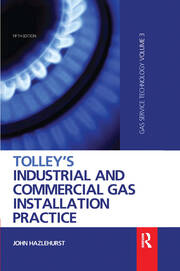 Tolley's Industrial and Commercial Gas Installation Practice - 5th Edition book cover