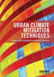 Urban Climate Mitigation Techniques - 1st Edition book cover