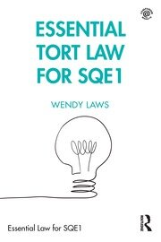 Essential Tort Law for SQE1 - 1st Edition book cover