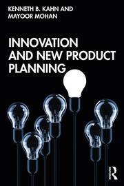 Innovation and New Product Planning - 1st Edition book cover