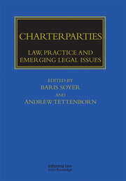 Charterparties - 1st Edition book cover