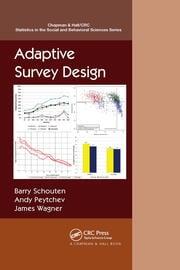Adaptive Survey Design - 1st Edition book cover
