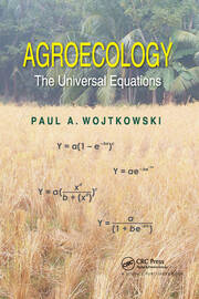 Agroecology - 1st Edition book cover