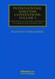 International Maritime Conventions (Volume 2) - 1st Edition book cover