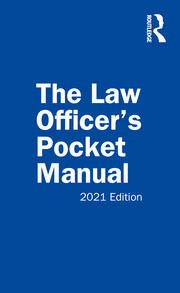 The Law Officer's Pocket Manual - 1st Edition book cover