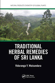Traditional Herbal Remedies of Sri Lanka - 1st Edition book cover