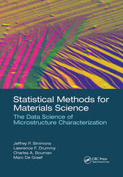 Statistical Methods for Materials Science - 1st Edition book cover