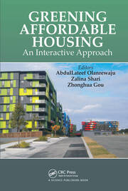 Greening Affordable Housing - 1st Edition book cover