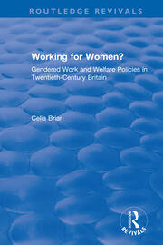 Working for Women? -  1st Edition book cover