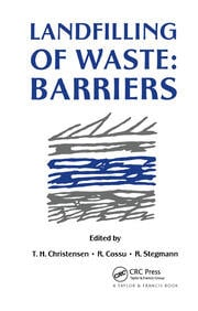 Landfilling of Waste - 1st Edition book cover
