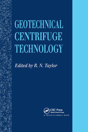 Geotechnical Centrifuge Technology - 1st Edition book cover