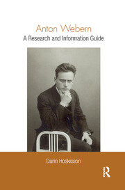 Anton Webern - 1st Edition book cover