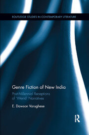 Genre Fiction of New India - 1st Edition book cover