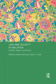 Law and Society in Malaysia -  1st Edition book cover