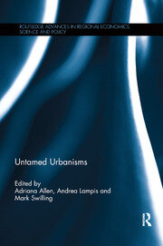 Untamed Urbanisms - 1st Edition book cover