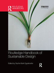 Routledge Handbook of Sustainable Design - 1st Edition book cover