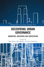 Decentring Urban Governance -  1st Edition book cover