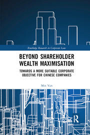 Beyond Shareholder Wealth Maximisation - 1st Edition book cover