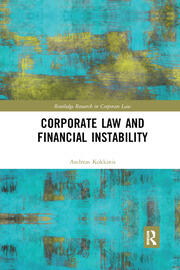 Corporate Law and Financial Instability - 1st Edition book cover