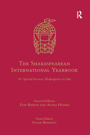 The Shakespearean International Yearbook - 1st Edition book cover