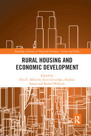 Rural Housing and Economic Development - 1st Edition book cover