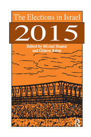 The Elections in Israel 2015 - 1st Edition book cover