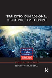 Transitions in Regional Economic Development - 1st Edition book cover