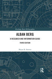 Alban Berg - 3rd Edition book cover