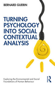 Turning Psychology into Social Contextual Analysis - 1st Edition book cover