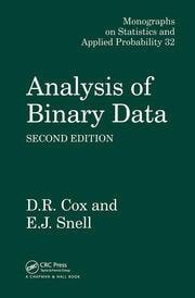 Analysis of Binary Data