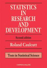 Statistics in Research and Development