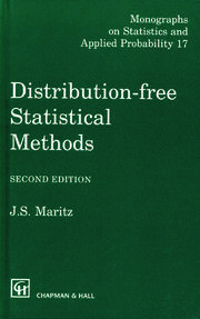 Distribution-Free Statistical Methods, Second Edition