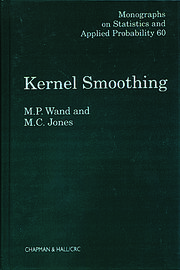 Kernel Smoothing - 1st Edition book cover