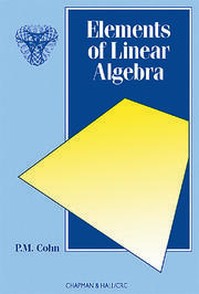Elements of Linear Algebra - 1st Edition book cover