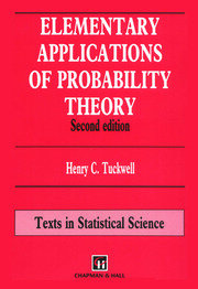Elementary Applications of Probability Theory
