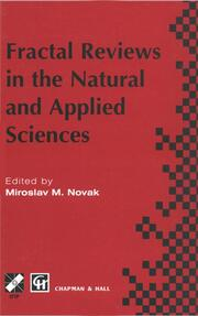 Fractal Reviews in the Natural and Applied Sciences - 1st Edition book cover
