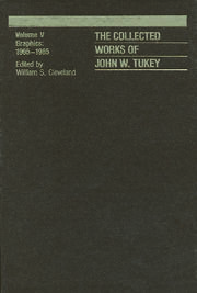 The Collected Works of John W. Tukey: Graphics 1965-1985, Volume V
