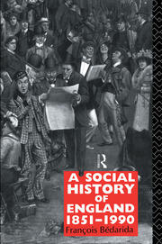 A Social History of England 1851-1990 - 2nd Edition book cover