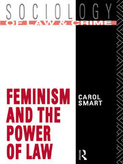 Feminism and the Power of Law - 1st Edition book cover