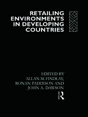Retailing Environments in Developing Countries - 1st Edition book cover