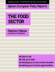The Food Sector - 1st Edition book cover
