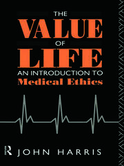 The Value of Life - 1st Edition book cover