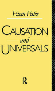 Causation and Universals - 1st Edition book cover