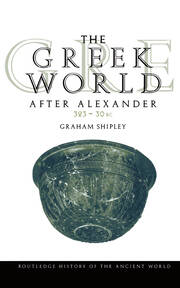 The Greek World After Alexander 323-30 BC - 1st Edition book cover