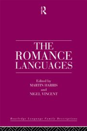 The Romance Languages - 1st Edition book cover