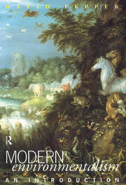 Modern Environmentalism - 1st Edition book cover