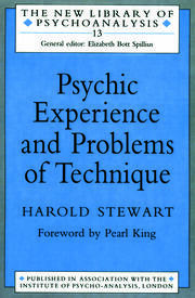 Psychic Experience and Problems of Technique - 1st Edition book cover
