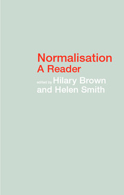 Normalisation - 1st Edition book cover