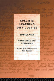 Specific Learning Difficulties (Dyslexia) - 1st Edition book cover